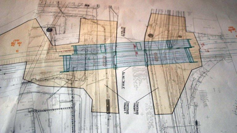 Схема реконструкции моста