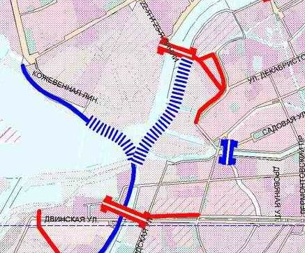 Схема проекта мостов и