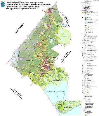 Карта Кувшиновского Района