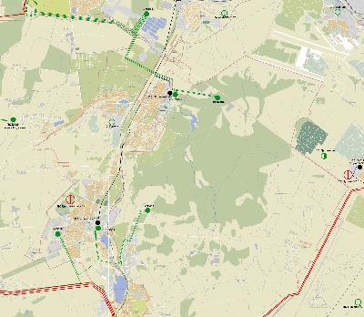 Карта-схема электрических