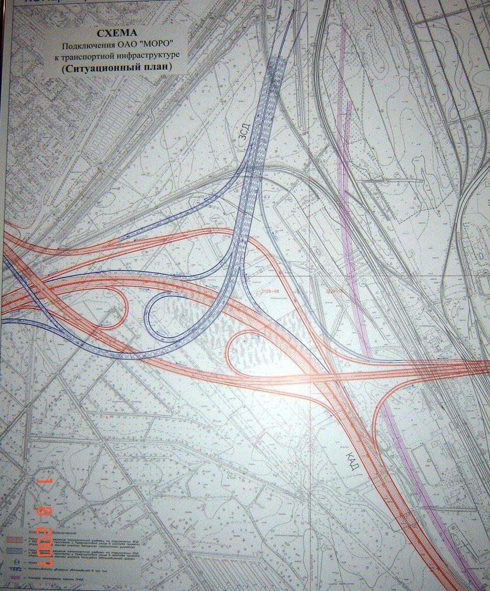 схема строительства автодороги петербург-москва