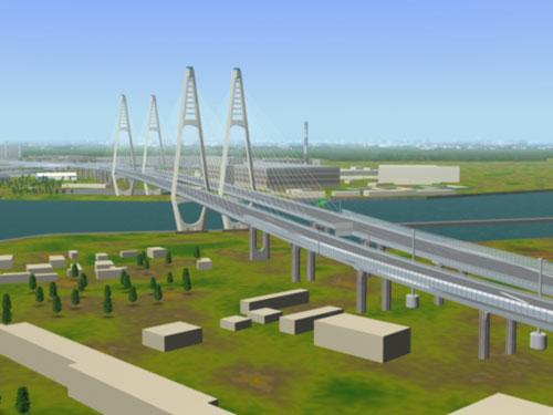 вантового моста через Неву