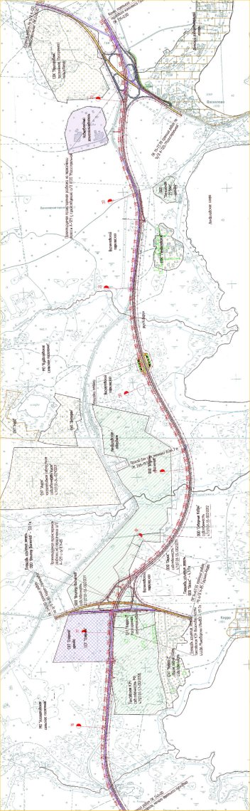 Схема участка от окрестностей