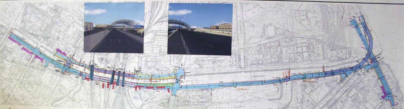 Схема реконструкции восточной