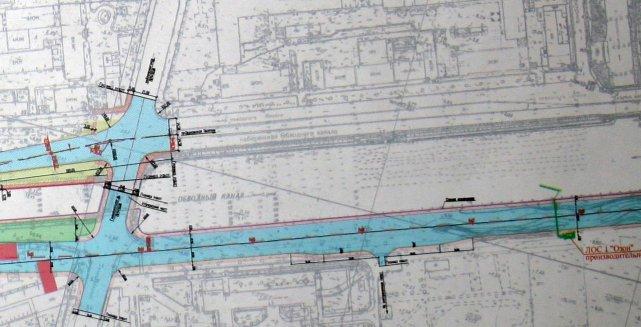 Схема реконструкции Обводного