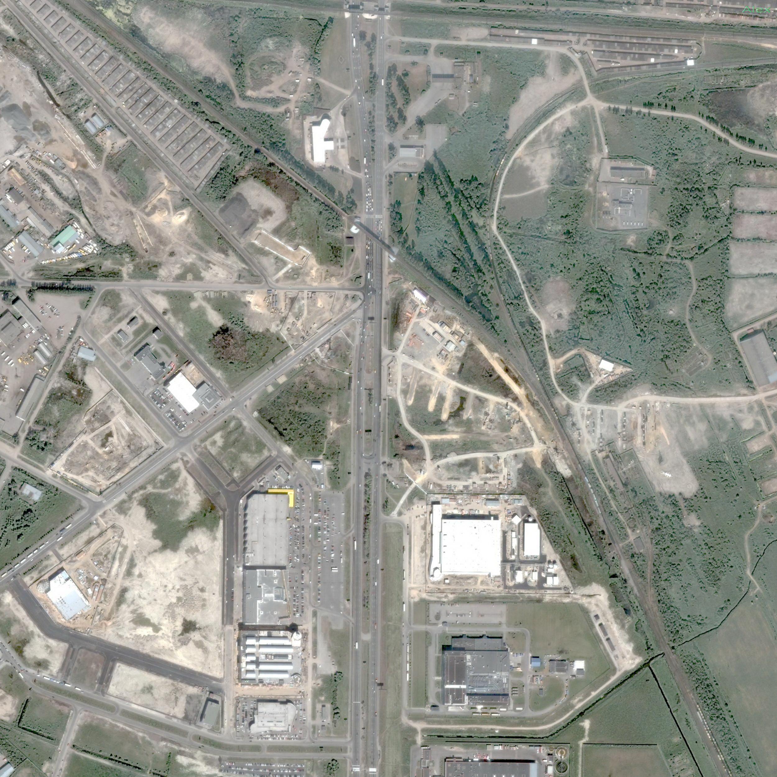 схема развязки на московском шоссе