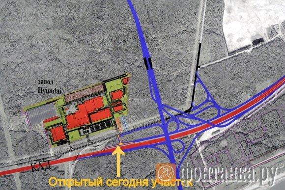 Схема развязки с автозоводом