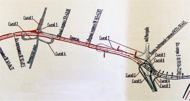 План исскуственных сооружений