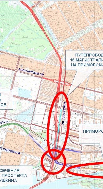 Участок ЗСД в Приморском